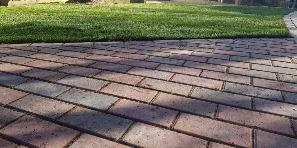 Turf and Block Pave
