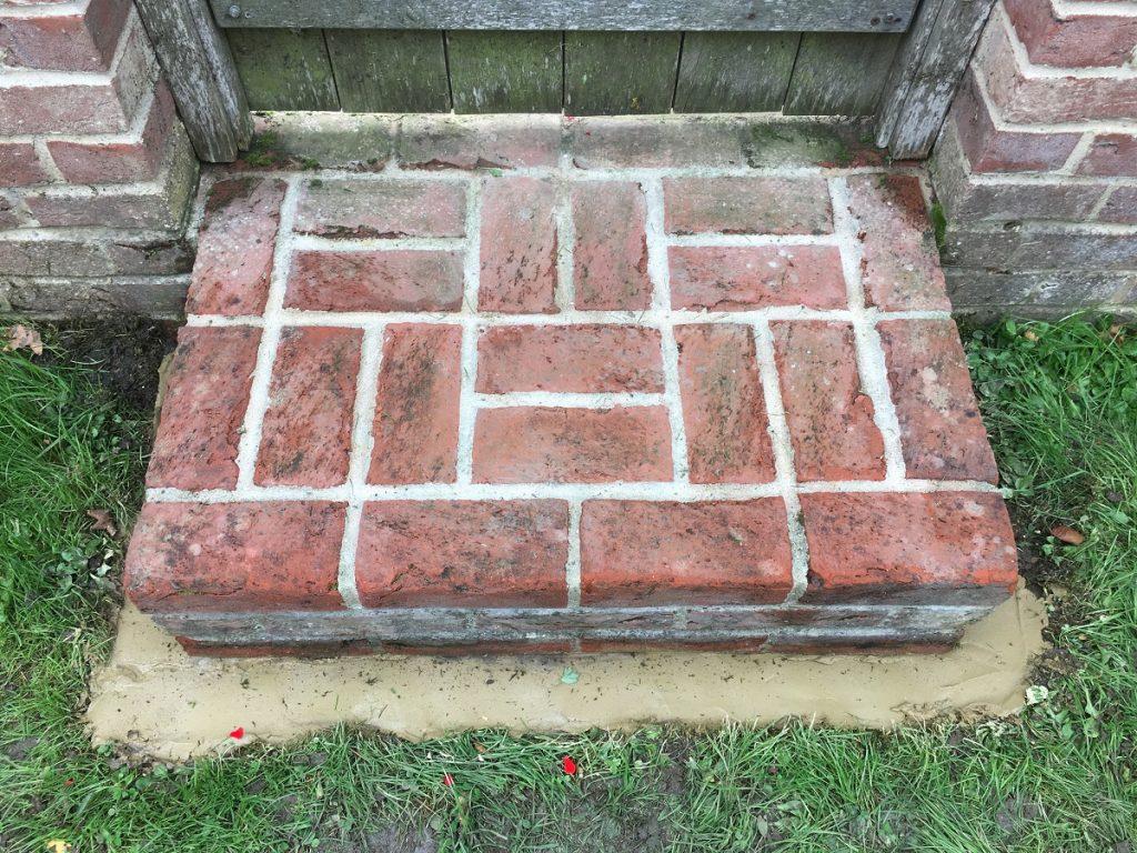 brickwork step